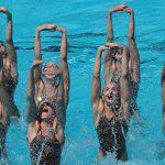 Сборная РФ по синхронному плаванию победила в технической программе на ЧМ