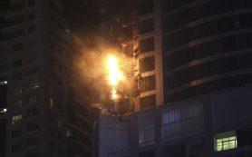 Пожар в дубайском небоскребе взят под контроль