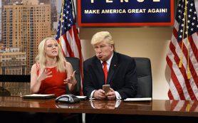 Алек Болдуин получил «Эмми» за пародию на Трампа в комедийном телешоу