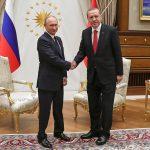 Путин и Эрдоган обсудили Сирию и курдов