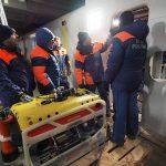 """Спасатели МЧС с помощью аппарата """"Фалькон"""" обследовали упавший Ми-8"""