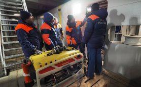 Спасатели МЧС с помощью аппарата «Фалькон» обследовали упавший Ми-8