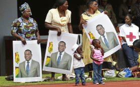Новый президент Зимбабве Эммерсон Мнангагва принял присягу