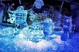 Фестиваль ледовых скульптур в Санкт-Петербурге
