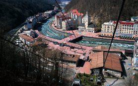 Власти Сочи просят туристов в Красной Поляне пользоваться автобусами