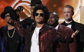 Бруно Марс получил семь наград Grammy