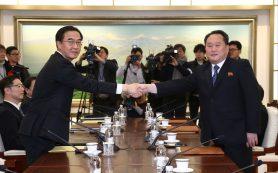 Южная Корея может приостановить санкции против КНДР на время Олимпиады