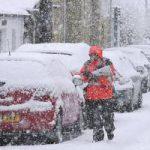 На Европу надвигается вторая волна аномальных снегопадов