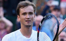 Россиянин Даниил Медведев стал первым финалистом теннисного турнира в Сиднее