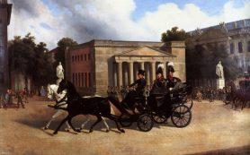 Замешательство скульпторов вызвало требование Александра I изобразить героев в генерал-фельдмаршальских мундирах