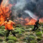 Греция в огне и трауре. Пожары разгорелись на Крите и Пелопоннесе