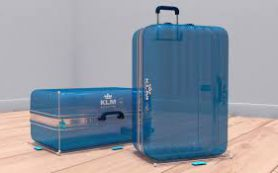 Мобильное приложение KLM измеряет ручную кладь еще дома