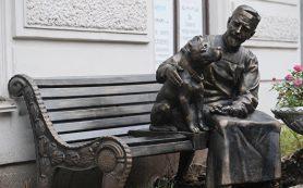 В Петербурге открыли памятник героям фильма «Собачье сердце»