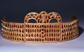 В берлинском музее выставили старинную диадему из Крыма