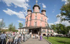 Власти Москвы выделят средства на реставрацию Донского монастыря