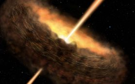 Черные дыры могут способствовать зарождению жизни на планетах-странницах