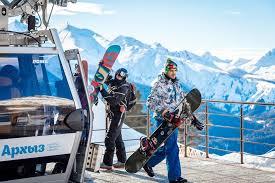 «Архыз» продает ски-пассы онлайн