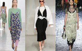 Бельевой стиль в современной моде