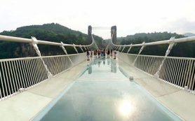 В Китае массово закрывают знаменитые стеклянные мосты из-за угрозы безопасности
