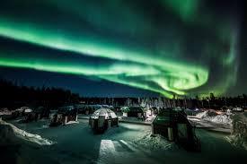В России появился сервис для прогноза полярных сияний