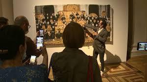 Выставка известного китайского художника Чжана Хуаня открылась в Эрмитаже