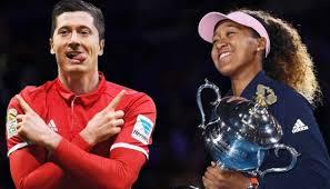 Роберт Левандовский и Наоми Осака — лучшие спортсмены уходящего года