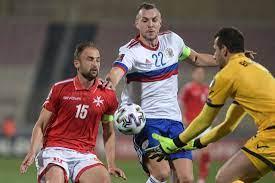 Сборная России едва не упустила победу над мальтийцами, а впереди ее ждет матч со Словенией