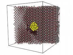 Атомы ядерного топлива выталкивают образующийся при его делении газ