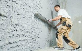 Оштукатуривание стен в доме