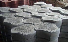 Причины популярности тротуарной плитки из белого цемента