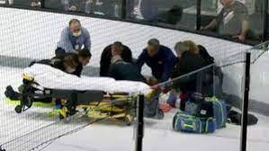 Хоккеист «Детройта» Макайзек потерял сознание во время матча