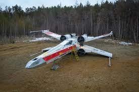 В парке Якутска появился новый корабль из «Звездных войн»