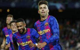 «Барселона» одержала первую победу на групповом этапе Лиги чемпионов